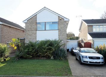Thumbnail 3 bed detached house for sale in Birling Drive, Luton