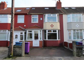 Thumbnail 4 bed terraced house for sale in Pitville Road, Mossley Hill