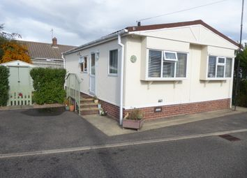 Thumbnail 2 bed mobile/park home for sale in Lea Park, Church Road, Boston, Lincolnshire