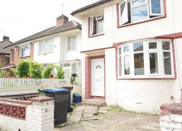 Thumbnail 4 bed terraced house to rent in Hazel Grove, Wembley