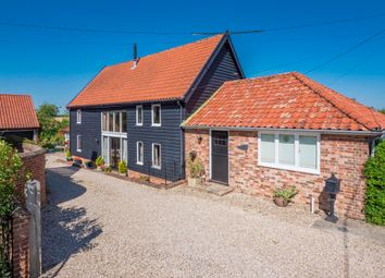 Thumbnail 4 bed barn conversion for sale in Buxhall, Stowmarket, Suffolk