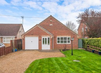 Thumbnail 3 bed detached bungalow for sale in Murrow Bank, Murrow, Wisbech