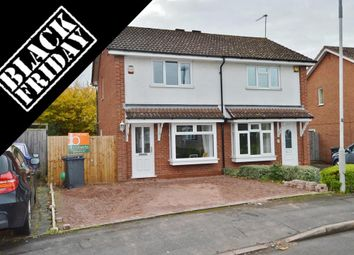 Thumbnail 2 bed semi-detached house for sale in Gatcombe Close, Wolverhampton