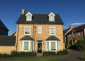 Thumbnail 4 bedroom detached house for sale in Burton Close, Fairfield Park, Stotfold, Herts