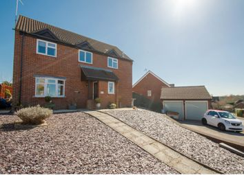 Thumbnail 4 bed detached house for sale in Tiberius Close, Haverhill