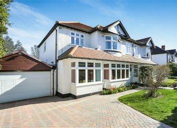 Thumbnail 4 bed semi-detached house for sale in Mount Park, Carshalton, Surrey