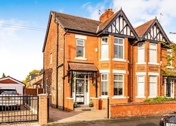 Thumbnail 3 bed semi-detached house for sale in Lindsay Road, Burnage, Manchester, Greater Manchester