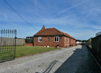 Thumbnail 3 bed detached bungalow for sale in York Road, Elvington, York