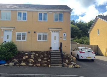 Thumbnail 2 bed end terrace house to rent in Tyn Y Coed Close, Sarn, Bridgend