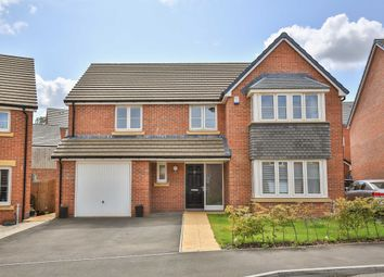 Thumbnail 4 bed detached house for sale in Harlech Road, Lythans Park, Cardiff