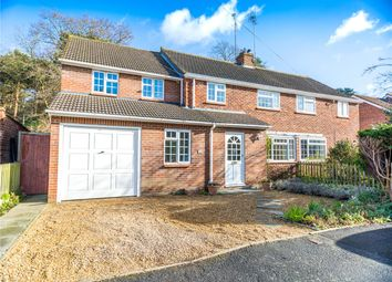 Thumbnail 5 bed semi-detached house for sale in Beechwood Close, Ascot