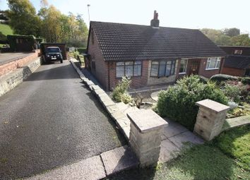 Thumbnail 2 bed semi-detached bungalow for sale in New Lane, Brown Edge, Staffordshire