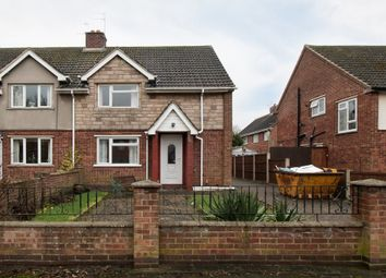 Thumbnail 3 bedroom semi-detached house for sale in Sideley, Kegworth, Derby