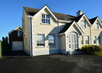 Thumbnail 4 bed semi-detached house for sale in Curragh Hill, Carnlough, Ballymena, County Antrim