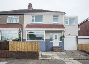 Thumbnail 4 bedroom semi-detached house for sale in Netherby Drive, Newcastle Upon Tyne
