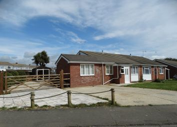 Thumbnail 2 bed semi-detached bungalow for sale in Beverley Close, Selsey, Chichester