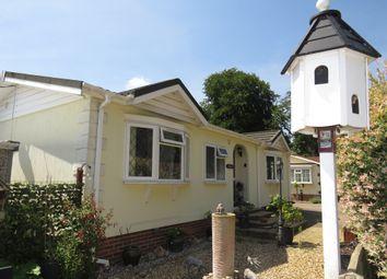 Thumbnail 2 bed mobile/park home for sale in Hardwick Bridge Caravan Park, Hardwick Road, King's Lynn