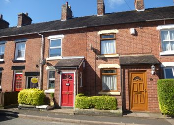 Thumbnail 2 bed terraced house to rent in Victoria Road, Market Drayton