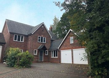 Thumbnail 4 bed detached house to rent in Tythe Barn Lane, Shirley, Solihull, West Midlands
