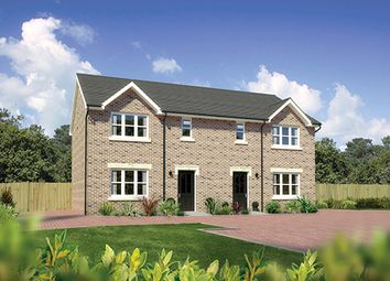 "Thumbnail 3 bedroom semi-detached house for sale in ""Caplewood"" at Hunter Street, Auchterarder"