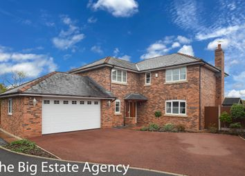 Thumbnail 4 bed detached house for sale in Ty Nant, Bryn Road, Mold