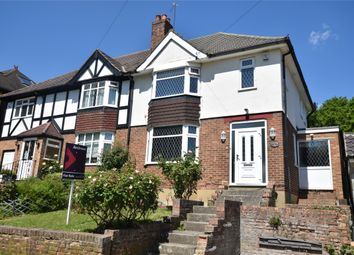 Thumbnail 3 bedroom semi-detached house for sale in Cherrycot Rise, Orpington, Kent