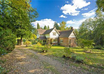 Hook Heath Road, Hook Heath, Woking, Surrey GU22. 3 bed detached house for sale