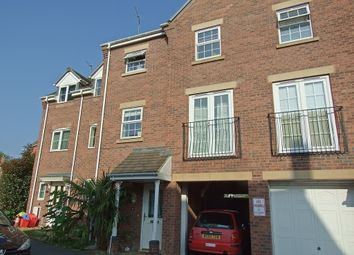 Thumbnail 3 bed town house to rent in Hollands Way, Kegworth, Derby