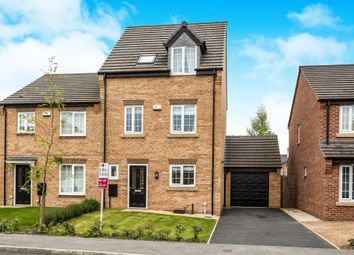Thumbnail 4 bed semi-detached house for sale in Hummingbird Walk, Wath-Upon-Dearne, Rotherham