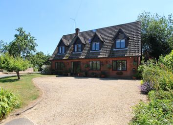 Thumbnail 4 bed detached house for sale in Stainfield Road, Hanthorpe, Bourne