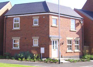Thumbnail 3 bedroom detached house to rent in Burdock Way, Desborough, Kettering, Northamptonshire