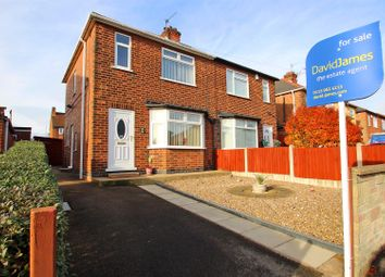 Thumbnail 3 bed semi-detached house for sale in Thoresby Avenue, Gedling, Nottingham