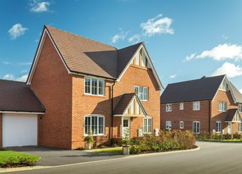 "Thumbnail 4 bed detached house for sale in ""Lincoln"" at West End Lane, Henfield"