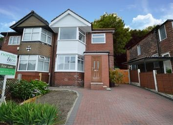 Thumbnail 3 bedroom semi-detached house for sale in Castlewood Road, Salford
