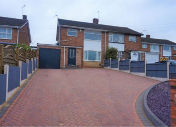 Thumbnail 3 bed semi-detached house for sale in Ashmead Road, Burntwood