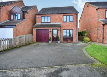 Thumbnail 4 bed detached house for sale in Lingfield Close, Mansfield, Nottinghamshire