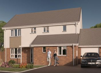 Thumbnail 4 bed detached house for sale in Highgrove, Roundswell, Barnstaple