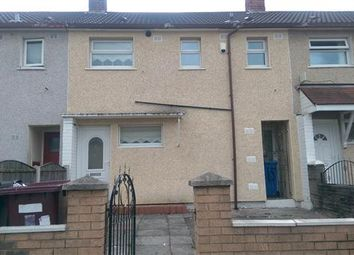 Thumbnail 3 bed town house to rent in Sennen Road, Kirkby, Liverpool