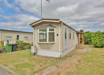 Thumbnail 2 bed mobile/park home for sale in Hatch Park, Old Basing, Basingstoke