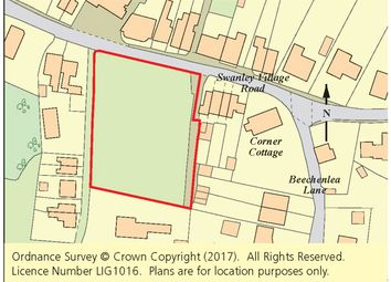 Thumbnail Land for sale in Land Off Swanley Village Road, Swanley, Kent