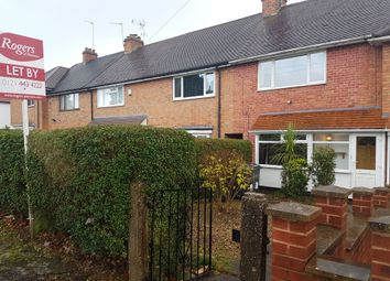Thumbnail 2 bed terraced house to rent in Chinn Brook Road, Birmingham