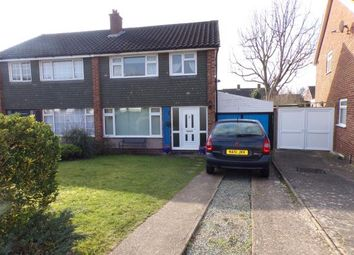 Thumbnail 3 bed semi-detached house for sale in Pevensey Road, Putnoe, Bedford, Bedfordshire