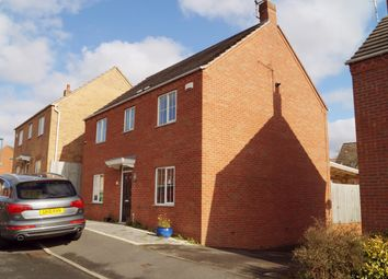 Thumbnail 4 bed detached house to rent in Crossland Road, Nottingham