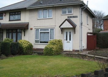 Thumbnail 3 bed semi-detached house to rent in Yew Tree Road, Delves, Walsall