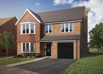 "Thumbnail 4 bedroom detached house for sale in ""The Pebworth"" at North Common Road, Wivelsfield Green, Haywards Heath"