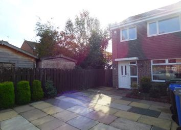 Thumbnail 3 bed semi-detached house for sale in Riley Close, Sale