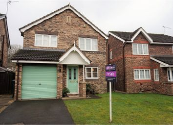 Thumbnail 3 bed detached house for sale in Orchid Rise, Scunthorpe