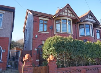 Thumbnail 3 bed semi-detached house for sale in Kirkstall Avenue, Blackpool