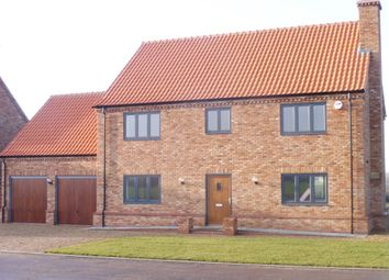 Thumbnail 4 bed detached house for sale in Roman Bank, Leverington, Wisbech