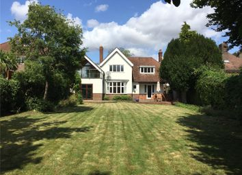 Thumbnail 4 bed detached house to rent in Quarry Road, Winchester, Hampshire